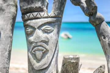 Carving in Fiji (South Pacific Islands)