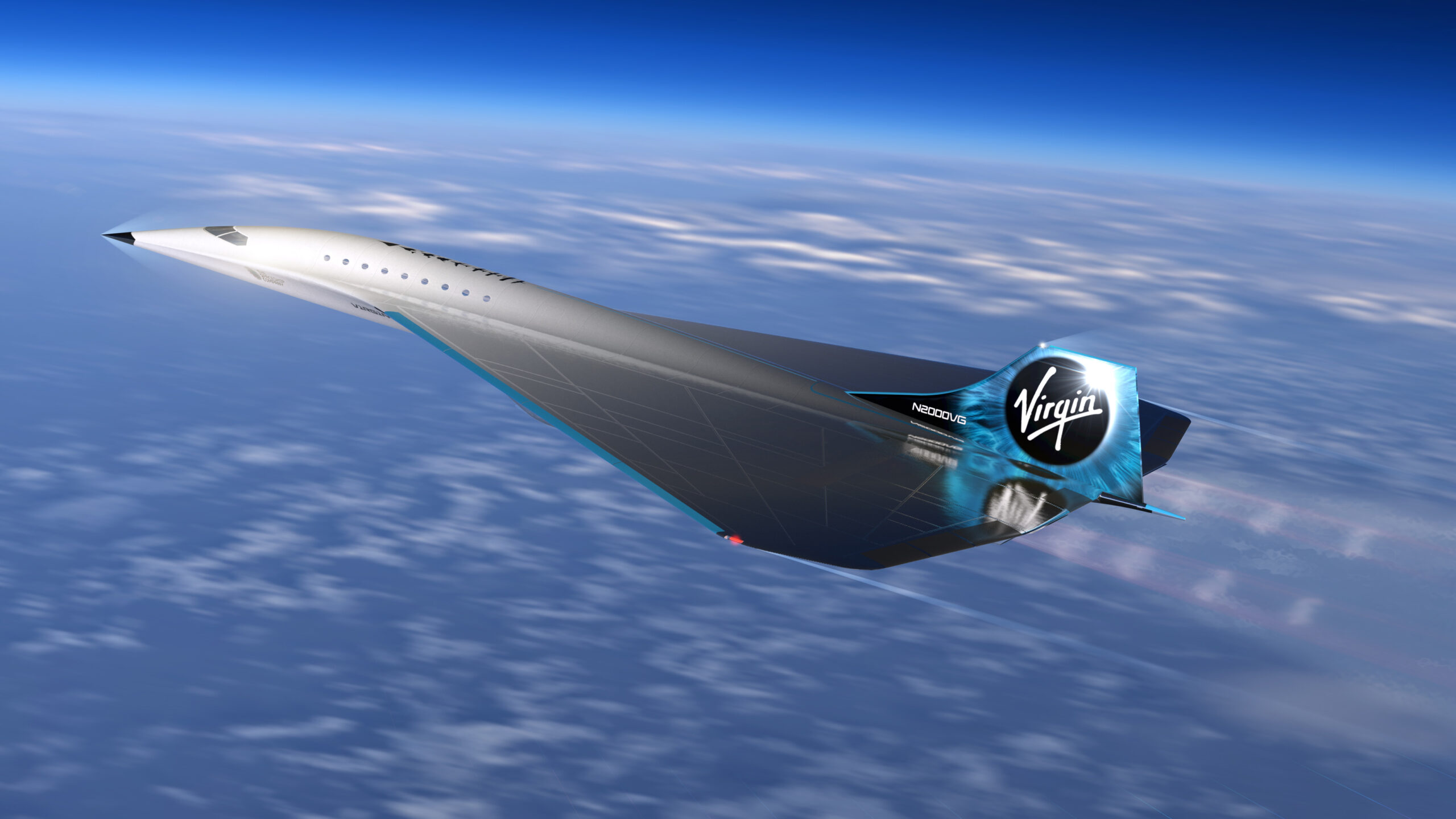 Virgin Galactic Unveils Mach 3 Aircraft Design for High Speed Travel Image 5