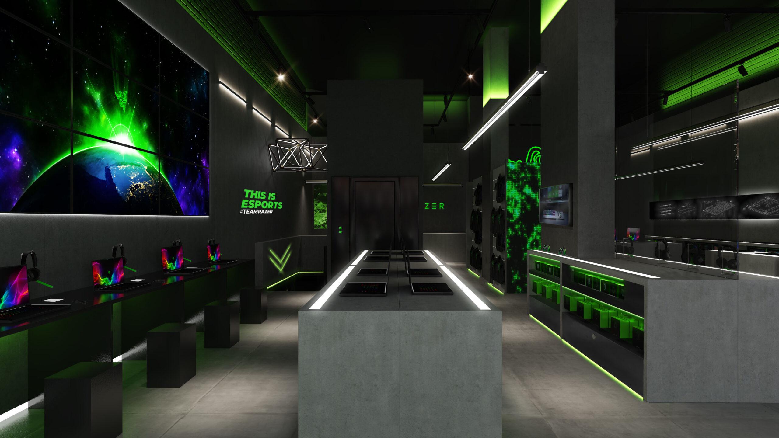 Razer gaming space by Your Studio, photo: Marcus Peel