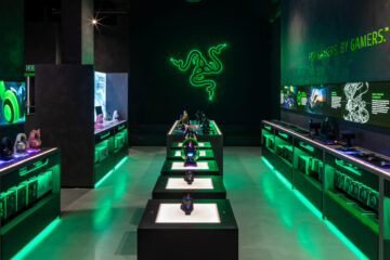 Razer gaming space by Your Studio, photo: Marcus Peel