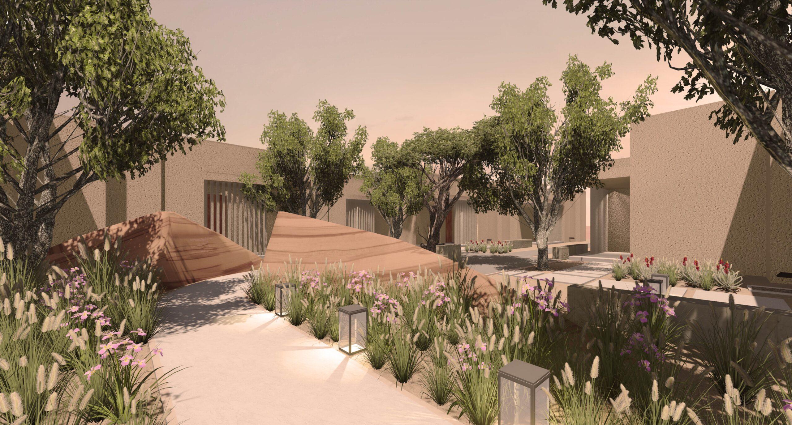 Zulal Wellness Resort garden