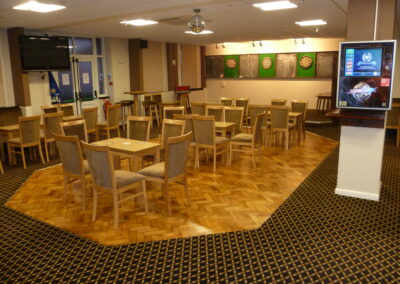 The Tarring Club Seating Area