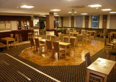 The Tarring Club Sitting Area