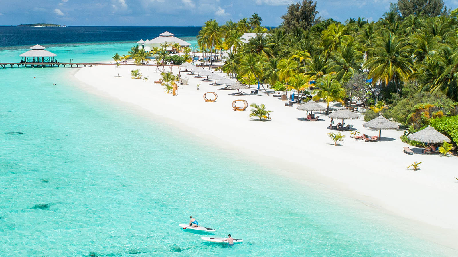 Kihaa Maldives Resort beach