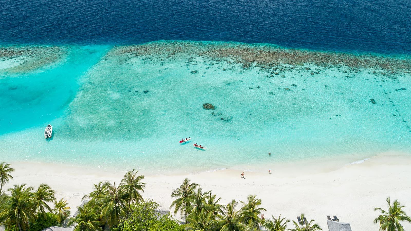 Kihaa Maldives Resort reef
