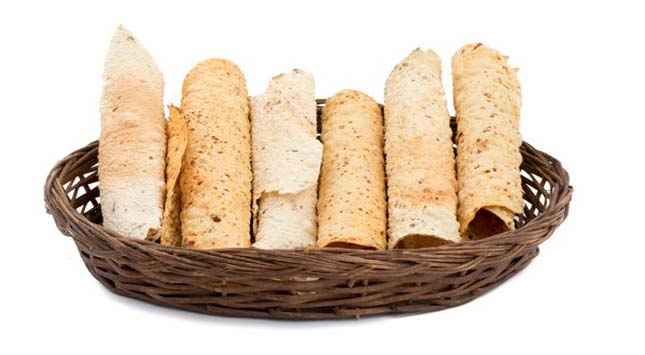 Papad - Thin & Crispy Food Item