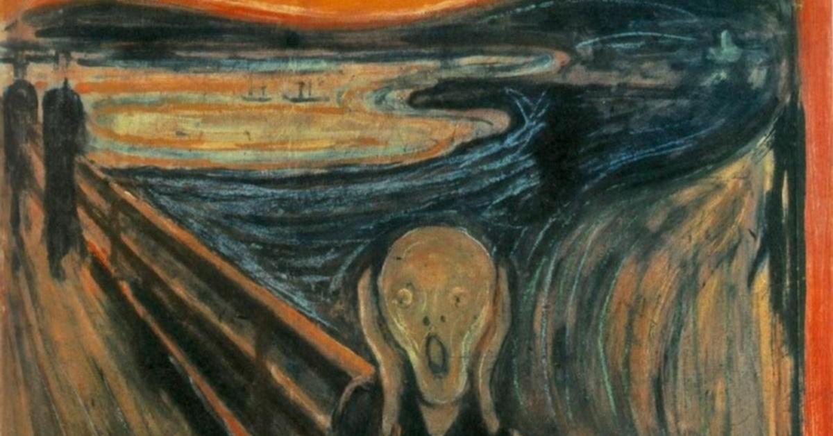 edward munch krik kao simbol posrtanja društva