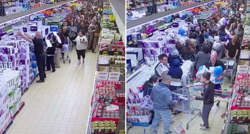 Izvanredne okolnosti navodel ljude na paničnu kupnju