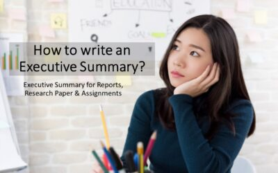 How to write an Executive Summary? Tips for Executive Summary Writing