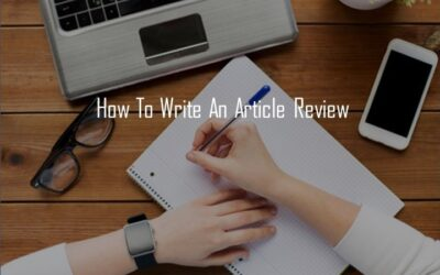 How to Write an Article Review for Beginners