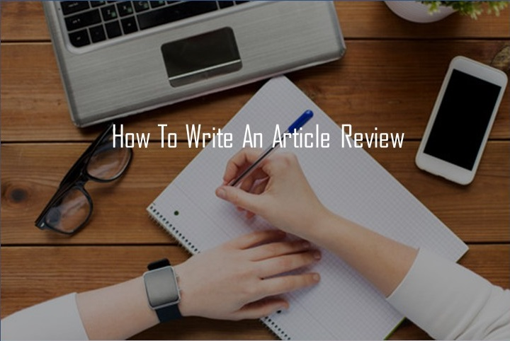 How-to-write-an-article-review