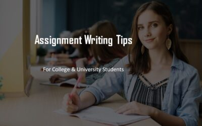 14 Fool-proof Assignment Writing Tips You Cannot Ignore