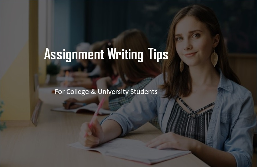 Assignment writing tips
