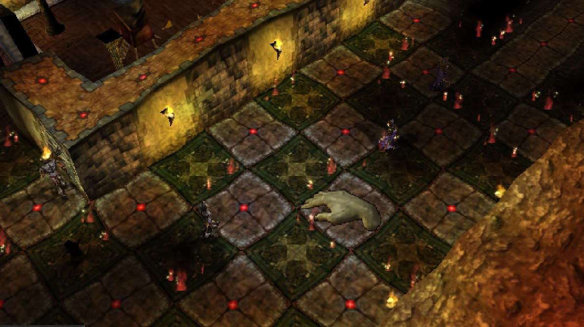 Bed pattern with Dungeon Keeper 2