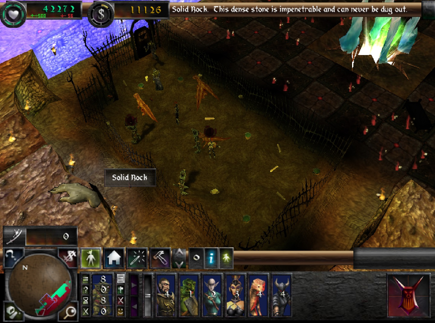 Lock Up Your Own Creatures with Dungeon Keeper 2