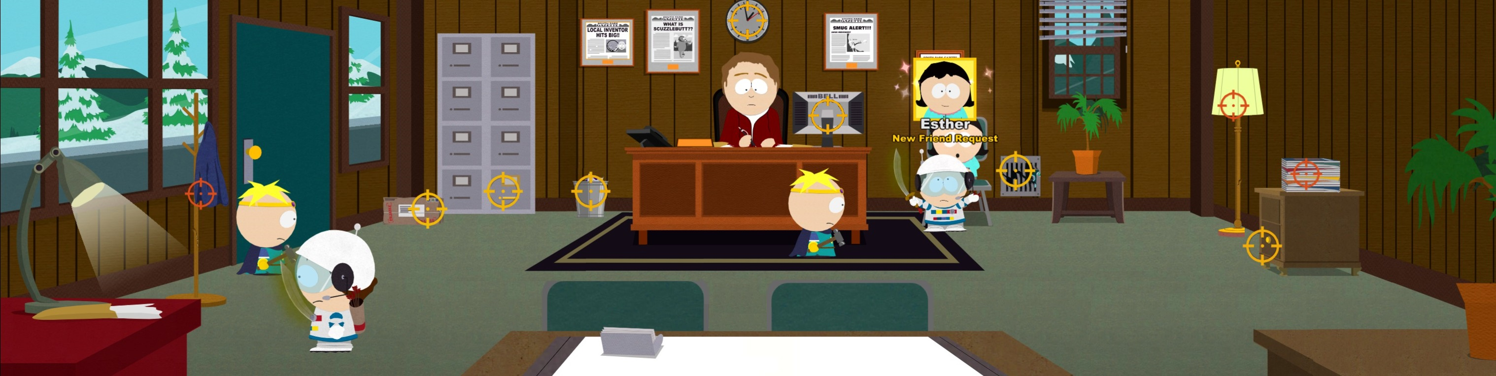 SouthPark Gazette Base Interior