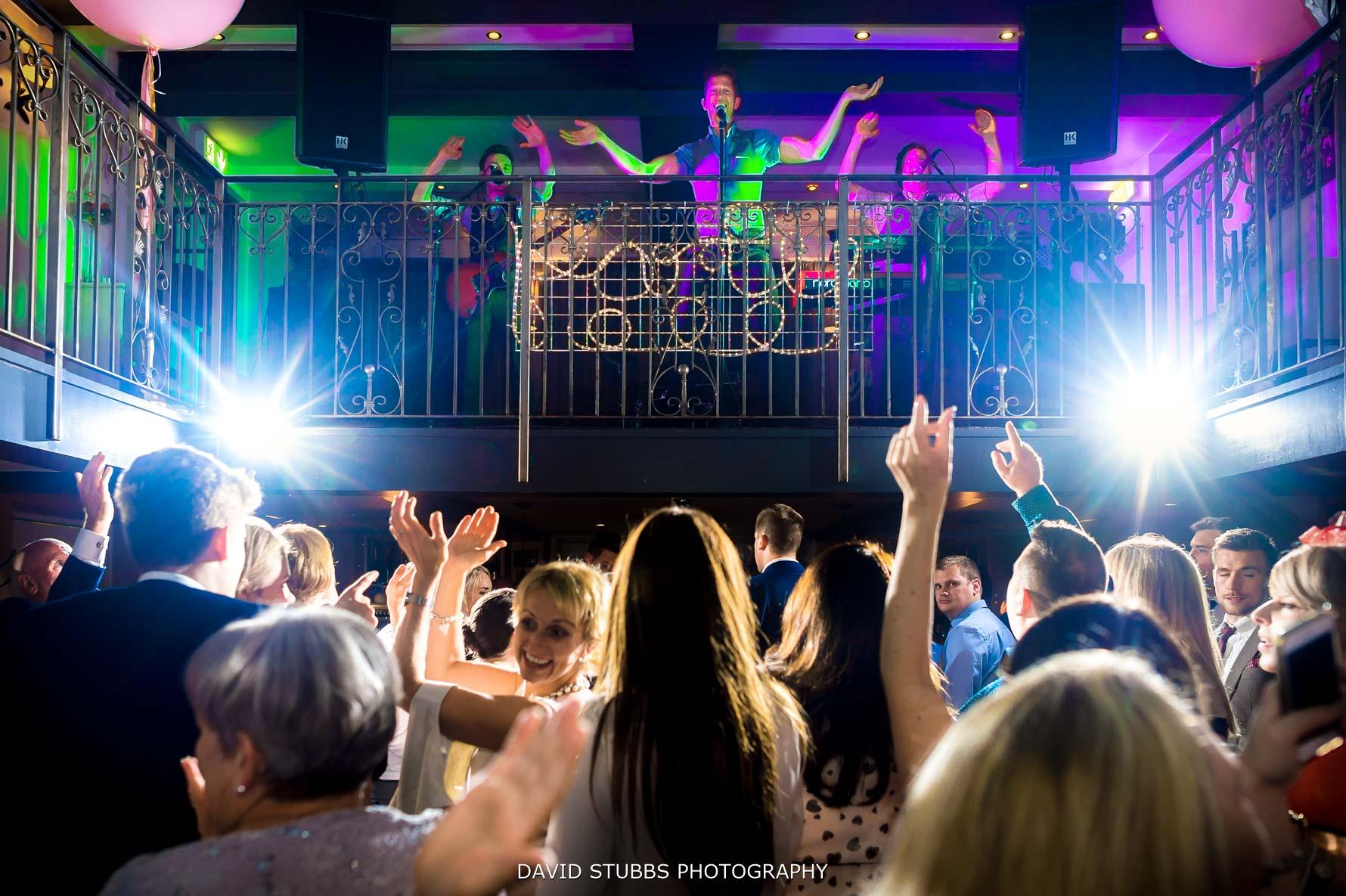 Oyster bar at great john street band wedding