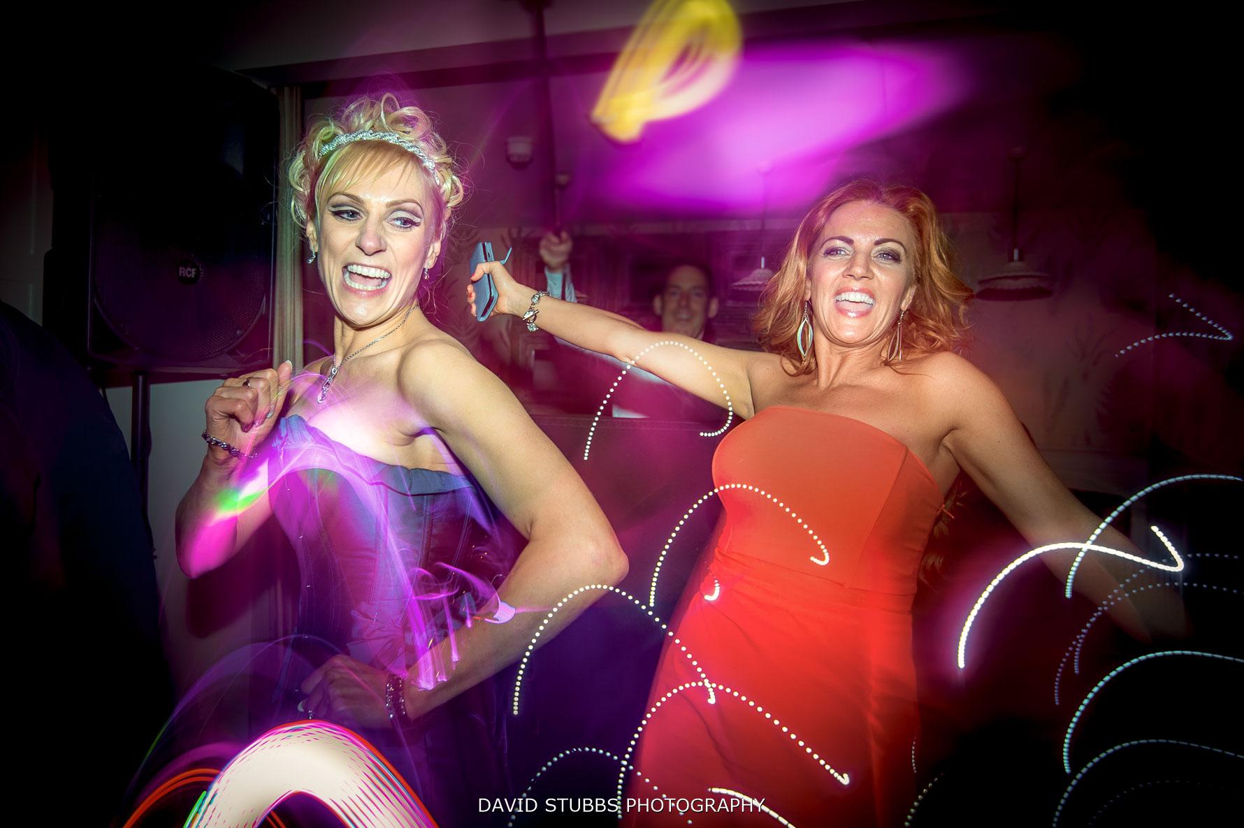 dancefloor with the bride