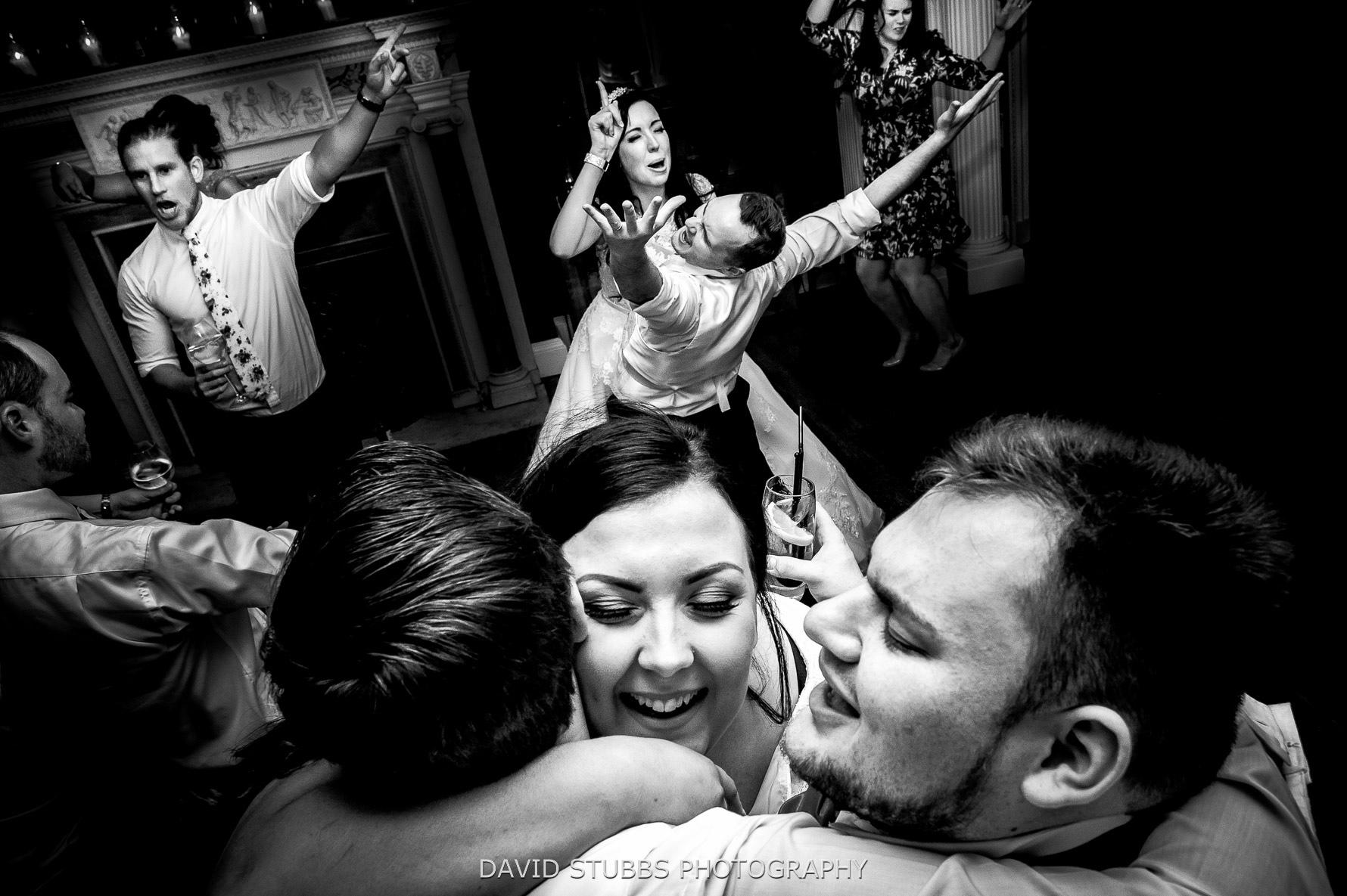 documentary style wedding photograph