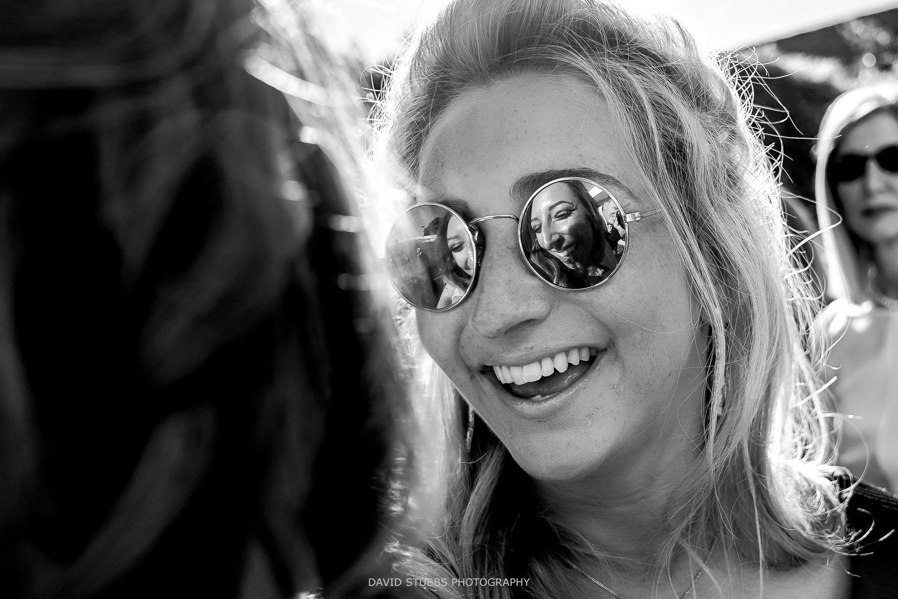 creative photo in the glasses