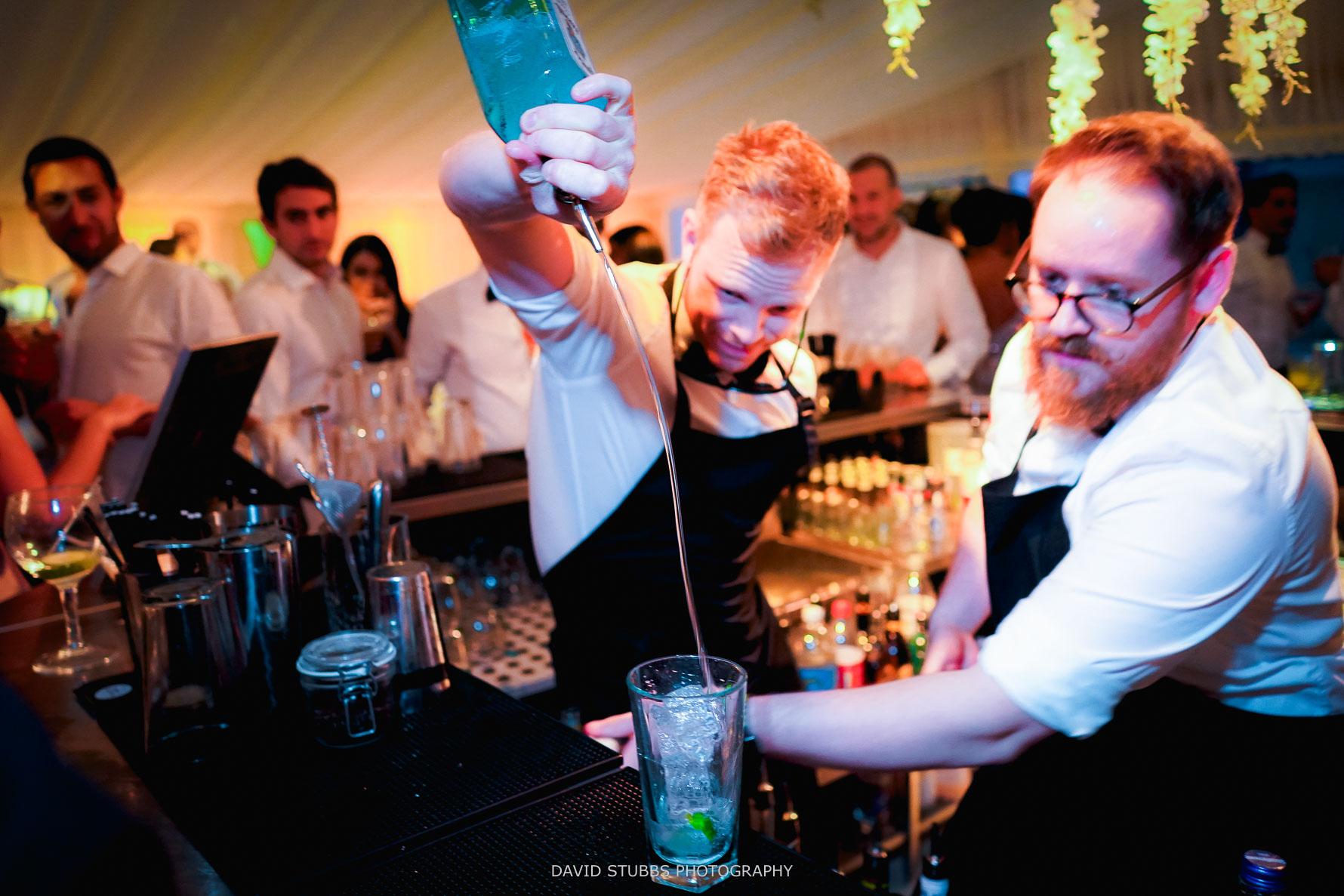 jonny cocktail wedding fun