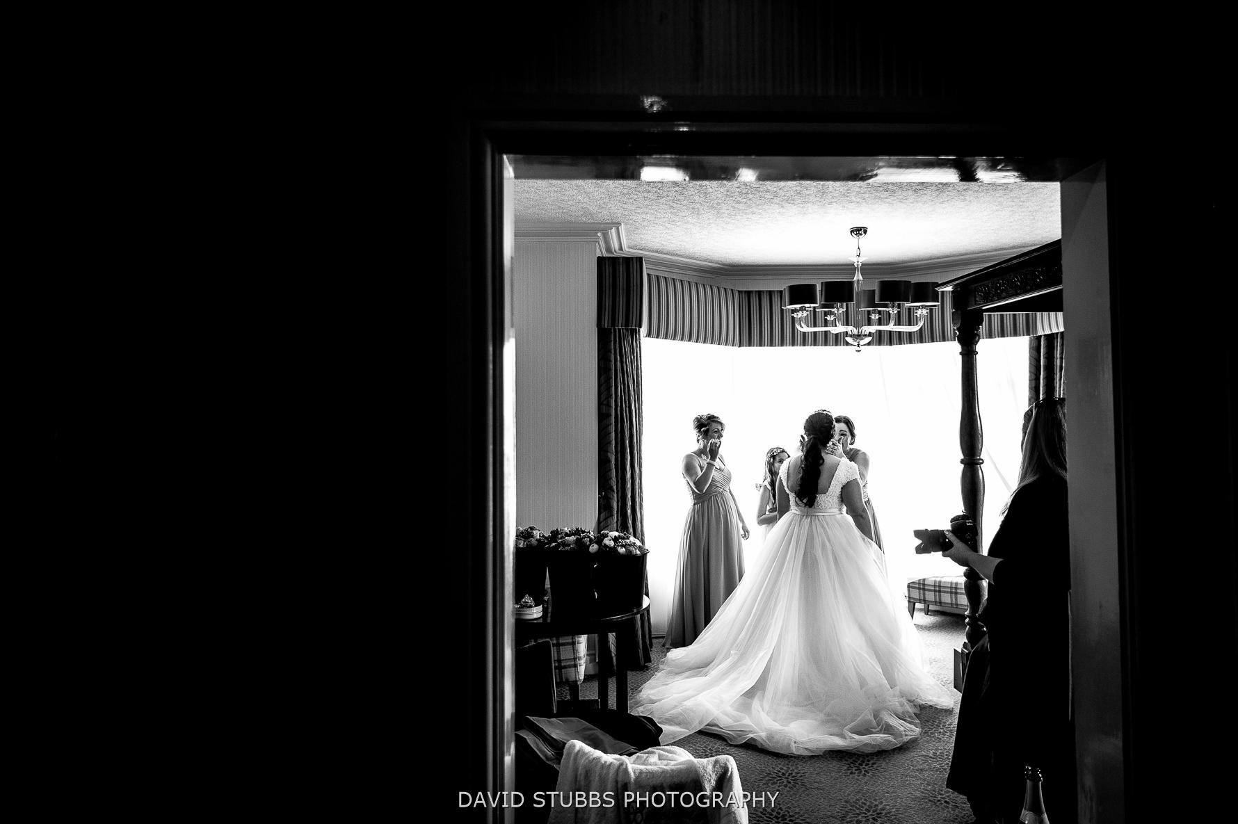 wedding dress looking beautiful