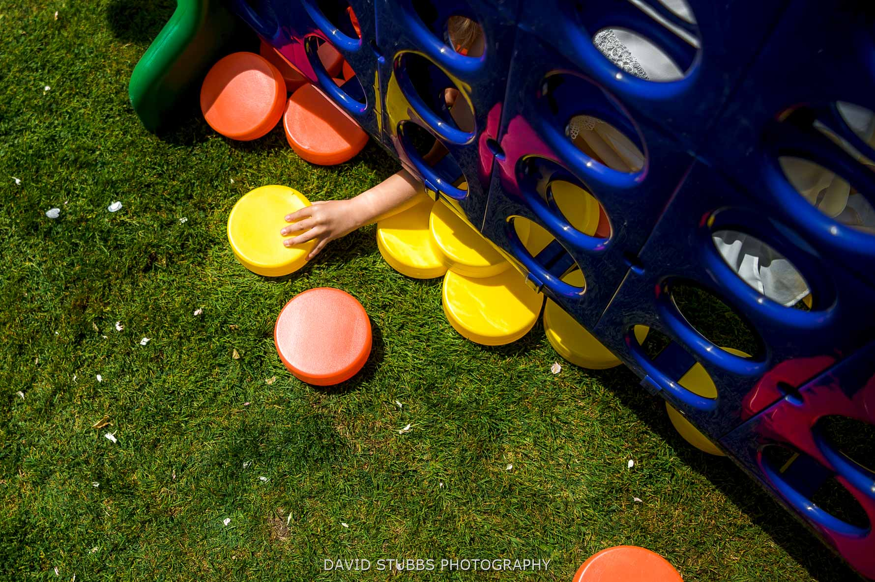 hand sticking out garden games