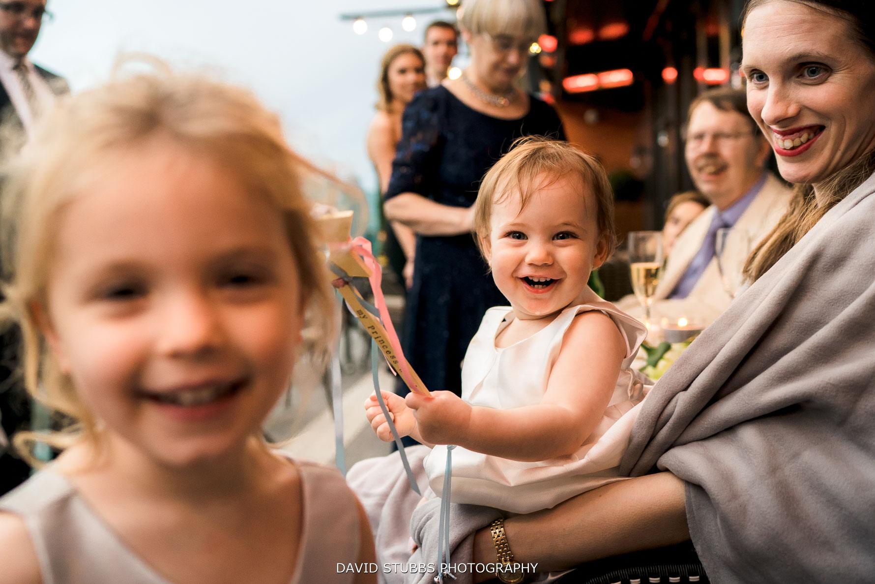kids at the wedding
