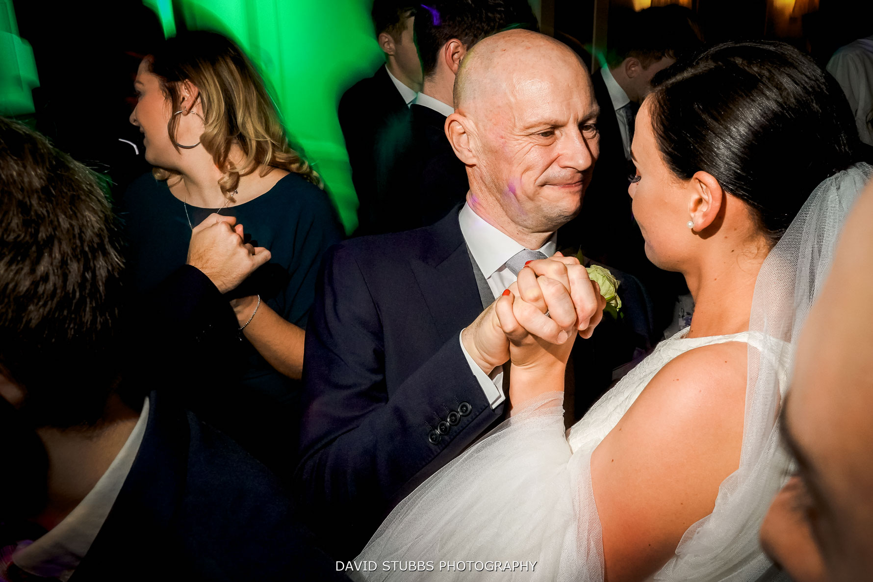 bride with father of the bride dance