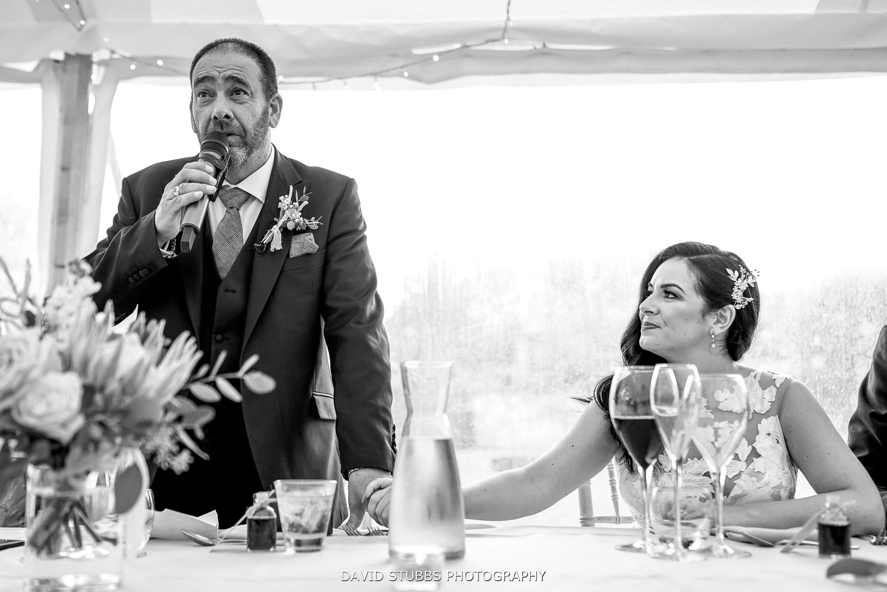 bride emotional speech father