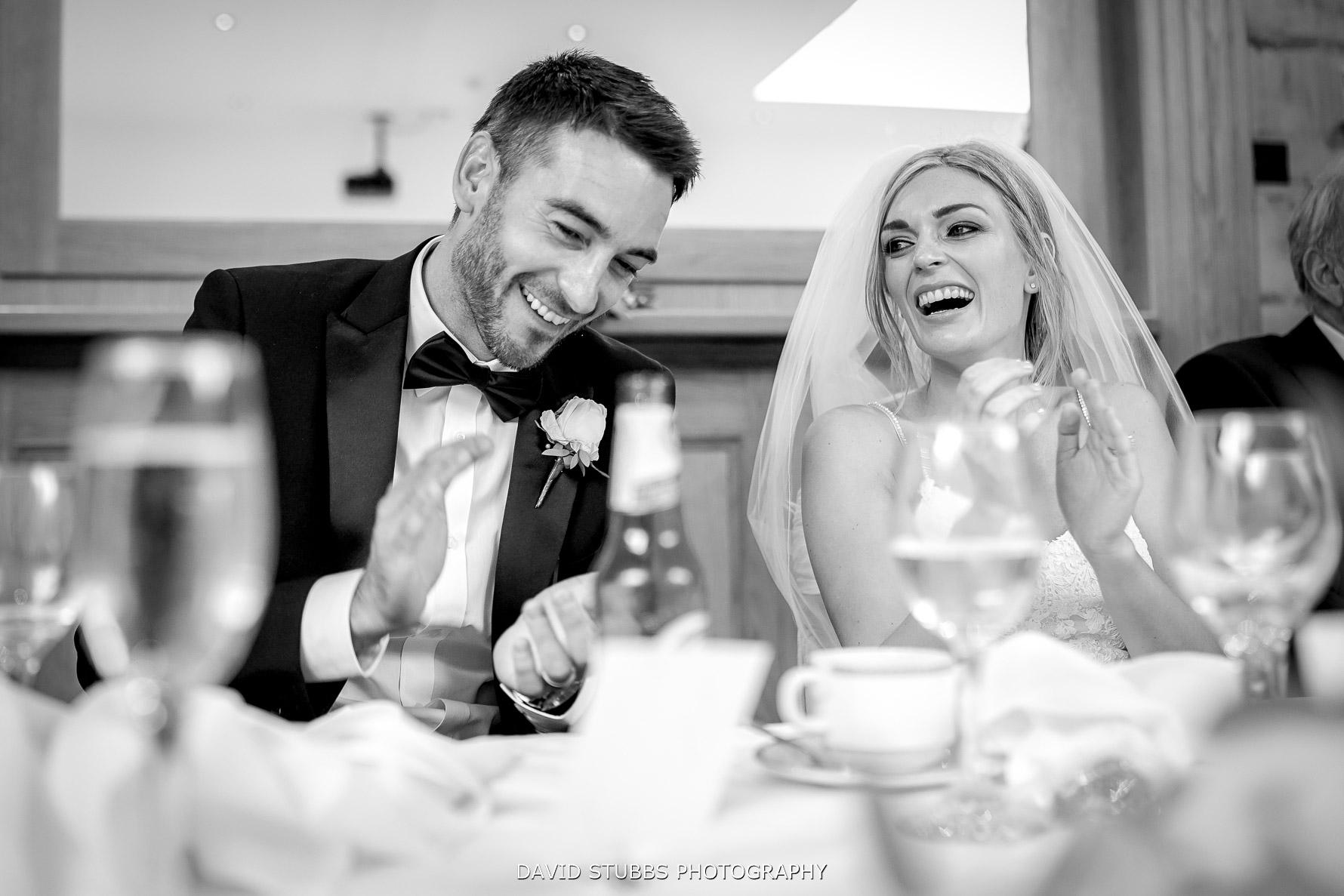 bride and groom as newlyweds