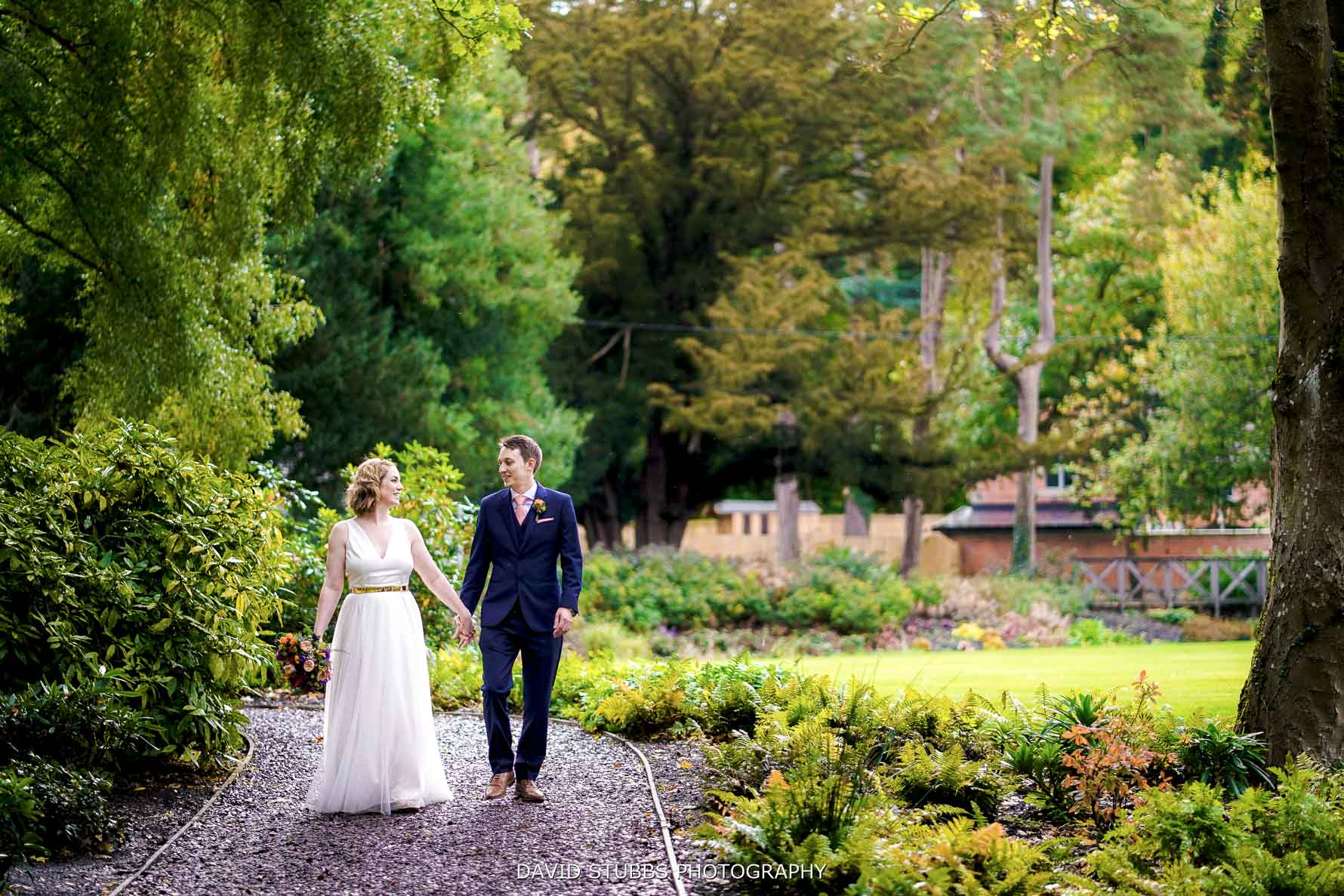 natural photos at Tyn Dwr Hall wedding
