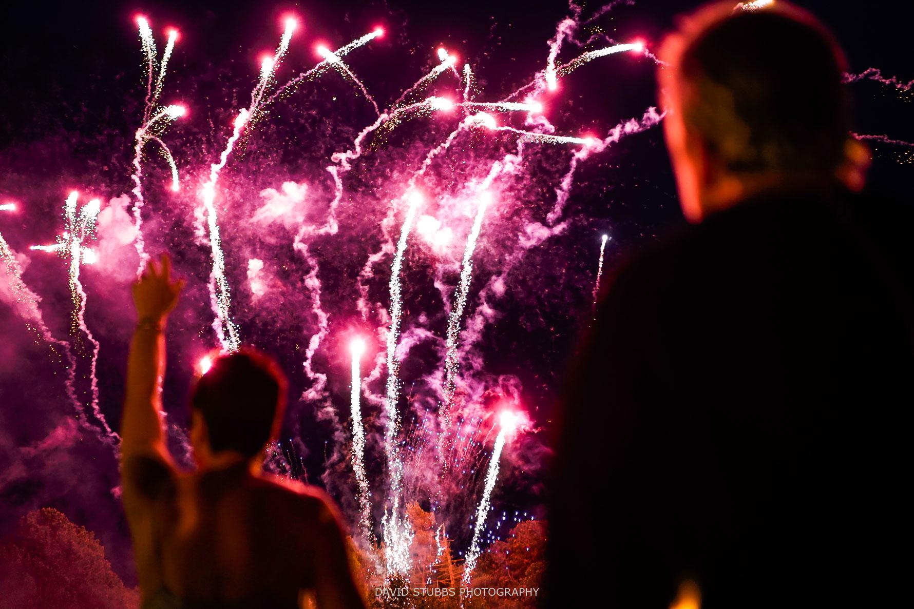 fireworks at hillbark hotel