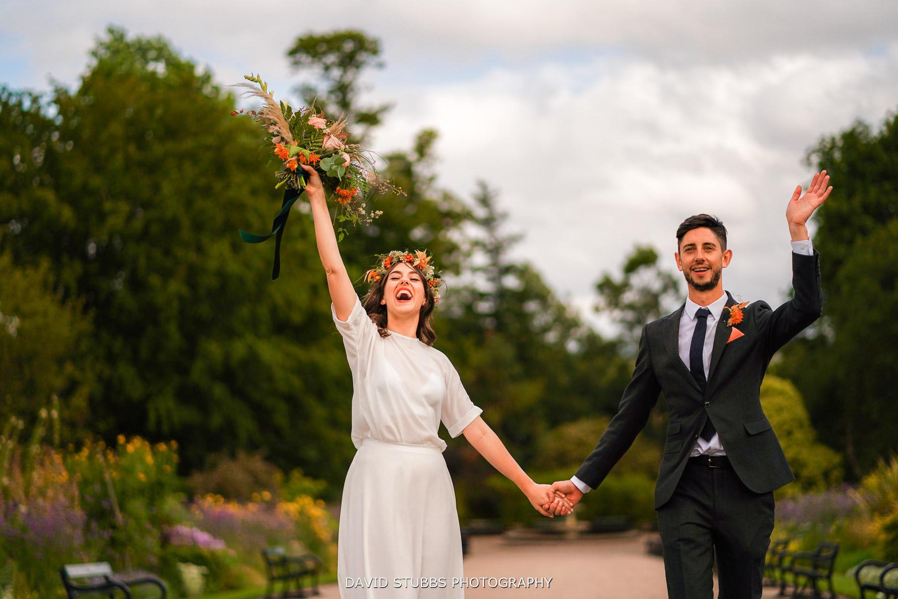 natural photo at wedding