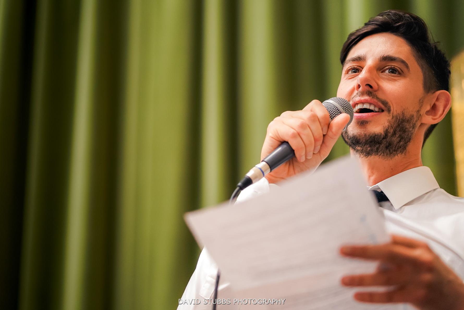 wedding speech by groom