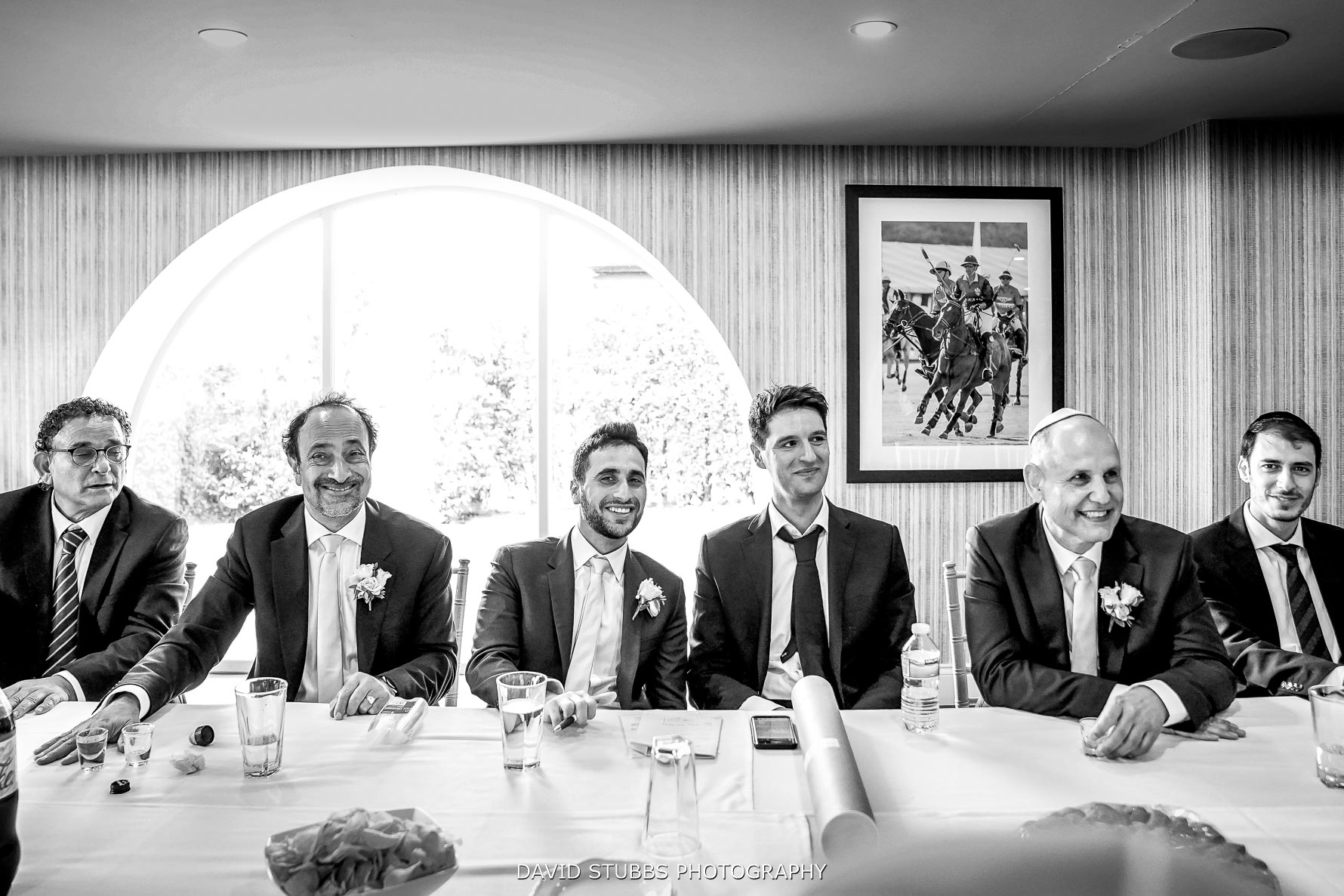 boys in the tics before the wedding