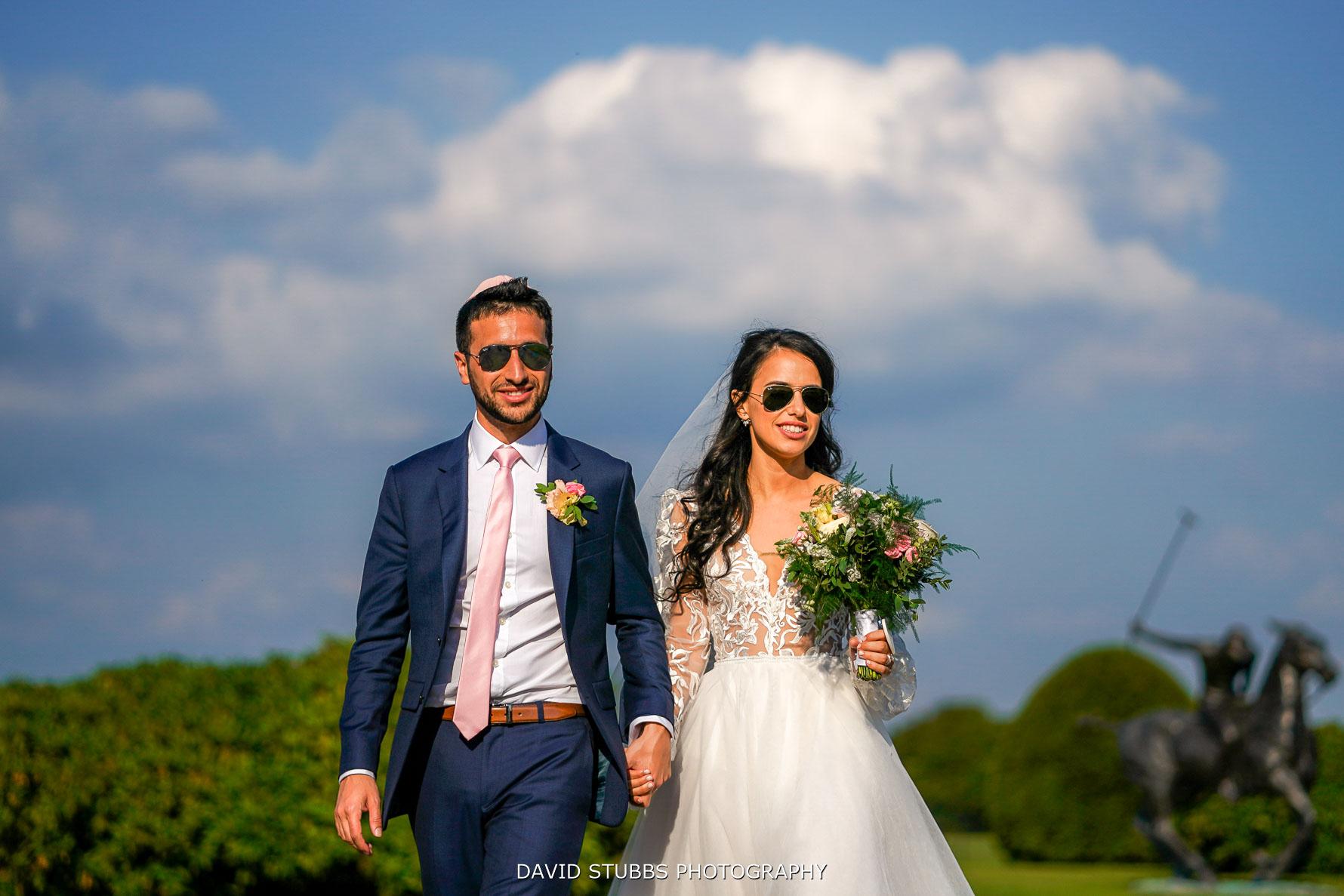 sunglasses at Uk wedding