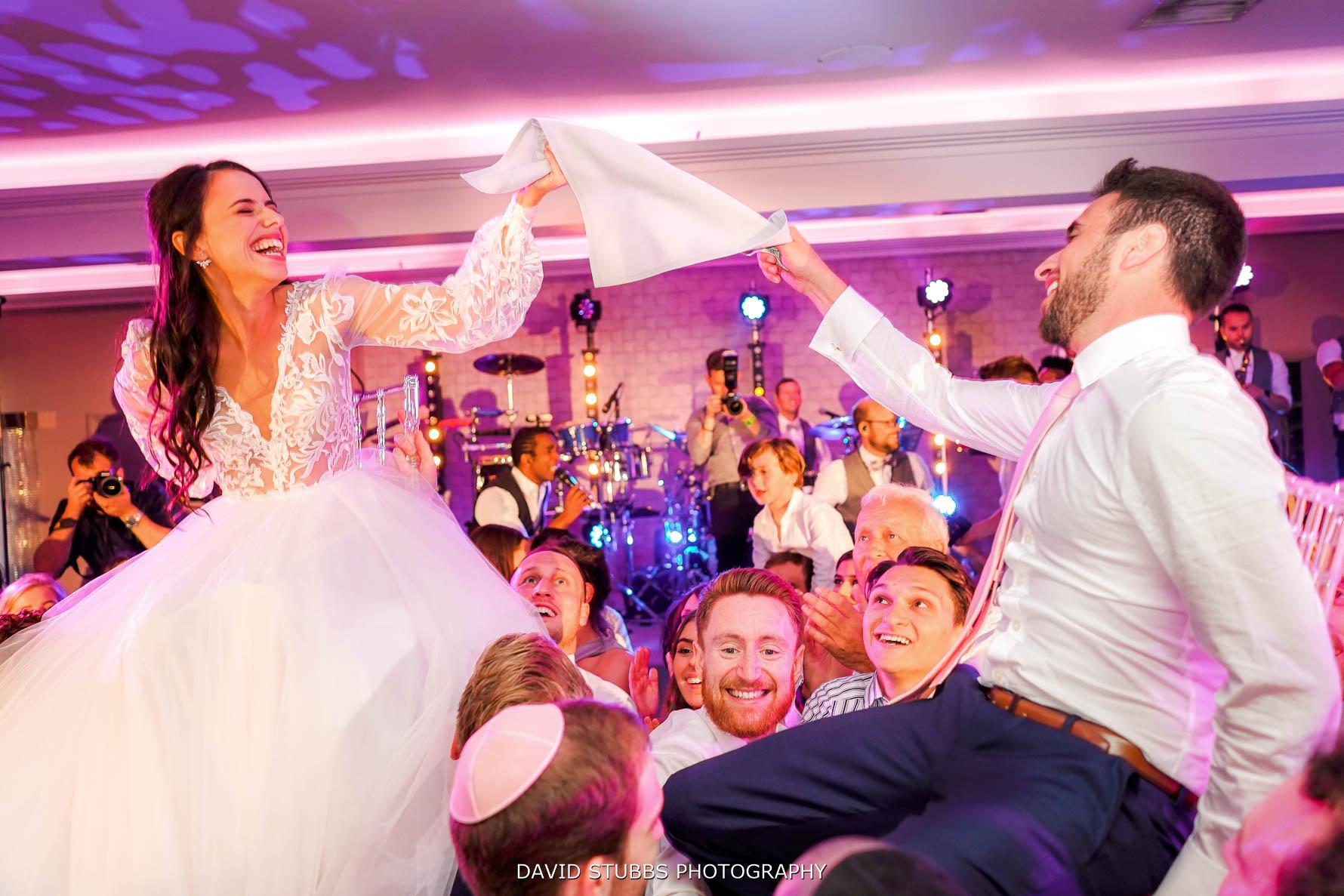 celebrating jewish wedding at merrydale manor
