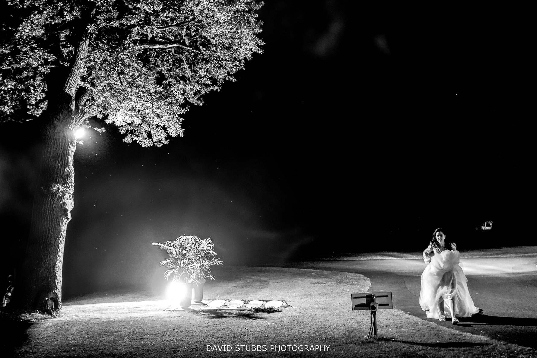 nighttime photo merrydale manor