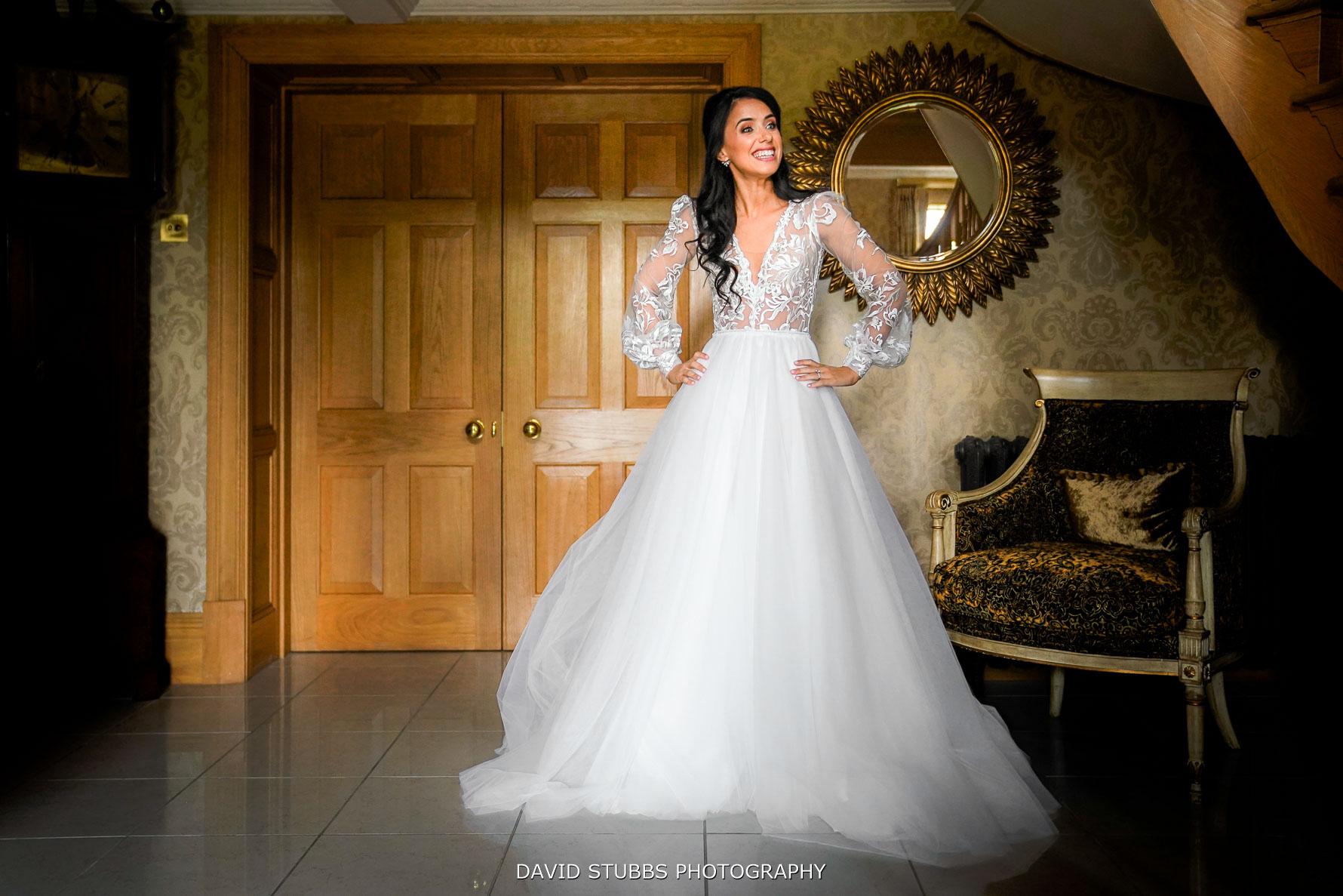 rachel the bride anticipates the day ahead