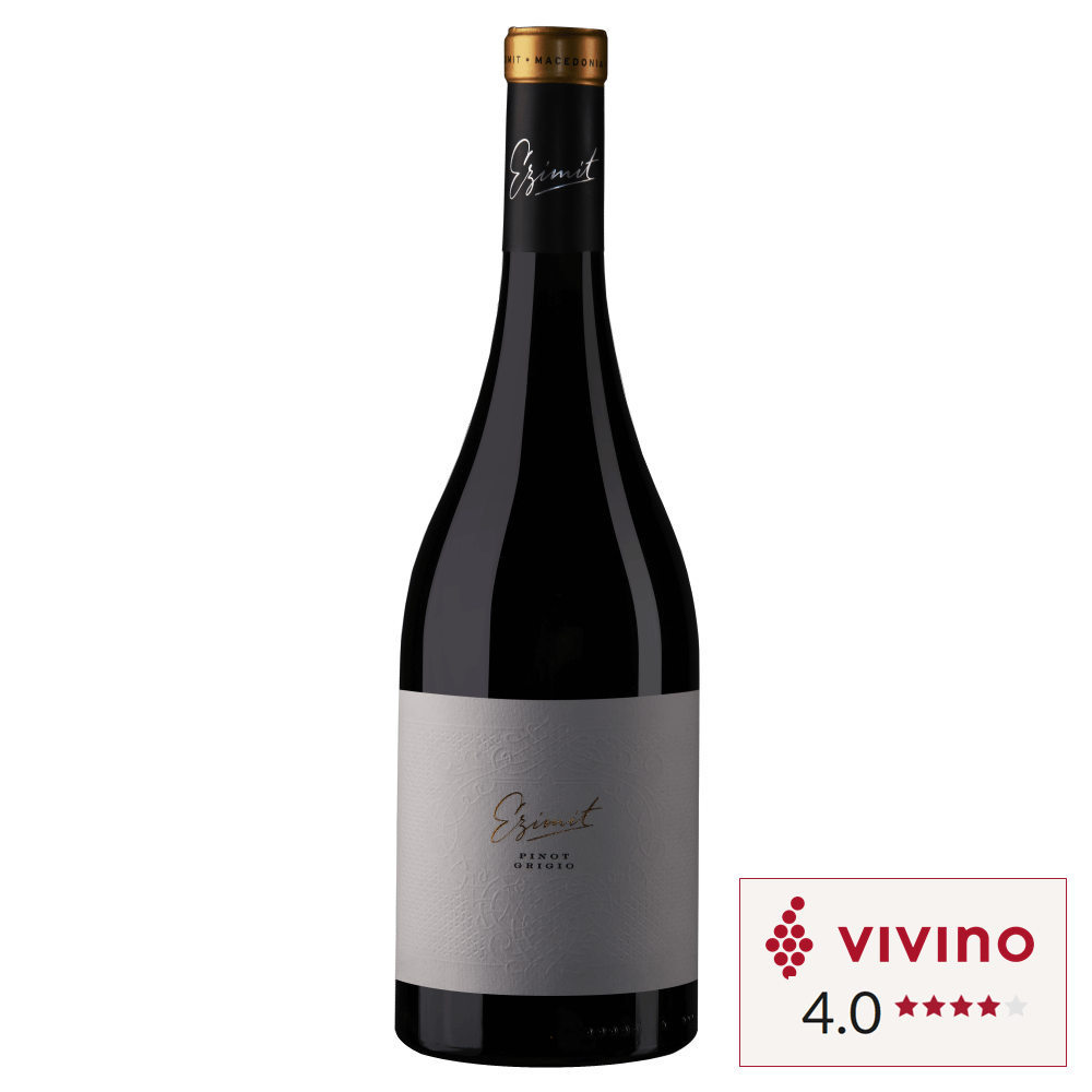 Vivino rated White wine Ezimit Pinot Grigio Pinot Gris bottle in Singapore