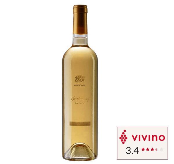 Vivino rated White wine Ezimit Chardonnay Barrique bottle in Singapore