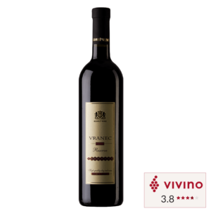 Vivino rated Red wine Ezimit Vranec Reserve bottle in Singapore