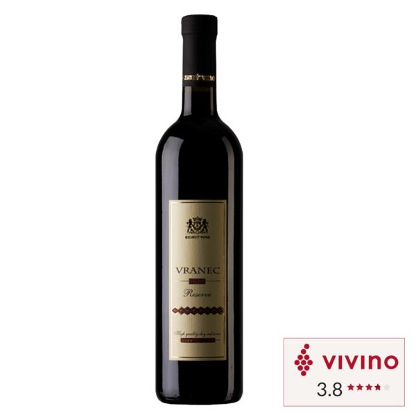 Vivino rated Red wine Ezimit Vranec Reserve bottle in Singapore