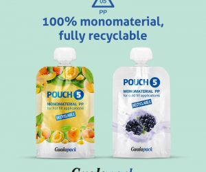 Gualapack launches the first 100% monomaterial recyclable pouches.
