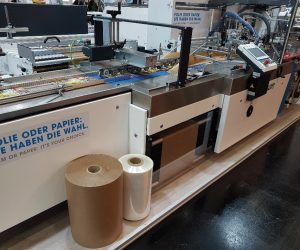 RESOURCE-SAVING AND FLEXIBLE MACHINE TECHNOLOGY FOR SUSTAINABLE FILM AND PAPER PACKAGING