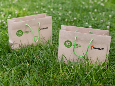 IQ GRASS+ PACKAGING: launch of a unique grass paper for premium packaging