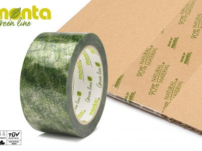 A Visibly Green Adhesive Tape