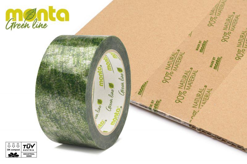 A Visibly Green Adhesive Tape