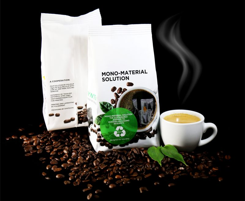 Coffee sustainably packaged